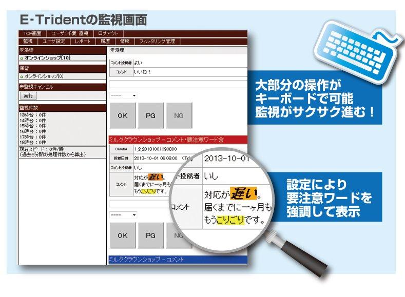 E-Trident監視画面