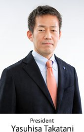 President Yasuhisa Takatani